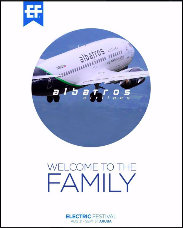 Albatros welcome to EF