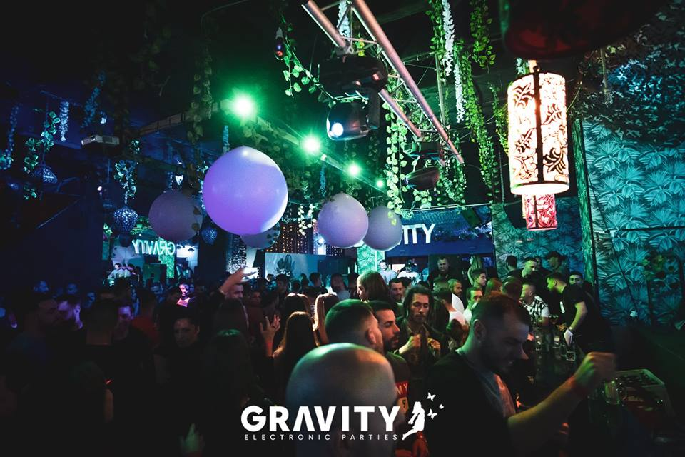 gravity electronic parties