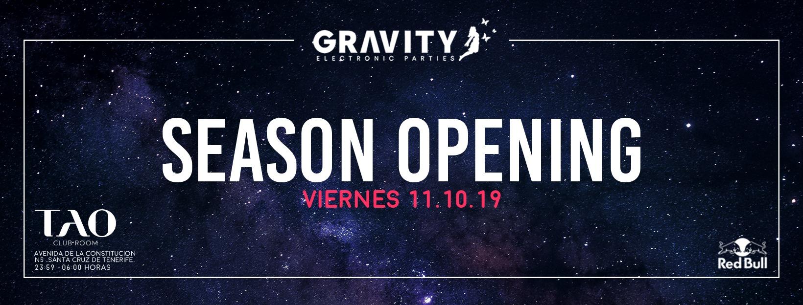 Gravity tenerife Season Opening