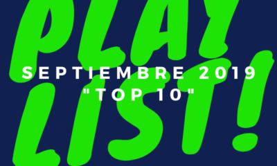 playlist septiembre 2019