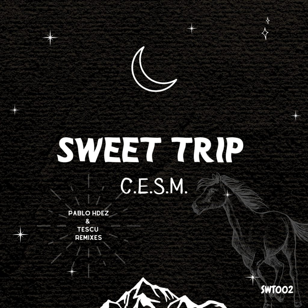 Cristian Santana Aka C.E.S.M. features WHITE PONY EP for Sweet Trip Music label, with 2 original tracks plus remixes by TESCU and PABLO HDEZ.